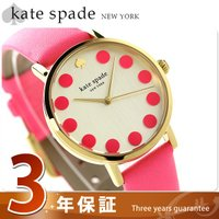 3年保証キャンペーン ケイト・スペード ニューヨーク メトロ ドット 34mm レディース 腕時計 ...