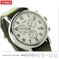 タイメックス ウィークエンダー 40mm クロノグラフ クオーツ メンズ 腕時計 2P71400 T...