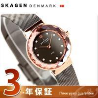 スカーゲン SKAGEN 腕時計 スチール レディース チャコールグレー×ピンクゴールド 456SR...