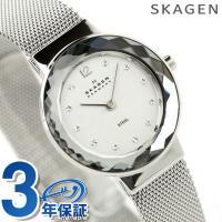 3年保証キャンペーン  スカーゲン SKAGEN 腕時計 スチール レディース シルバー 456SS...