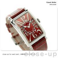 フランク・ミュラー ロングアイランド クオーツ レディース 腕時計 902-QZ-RE2-RE FR...