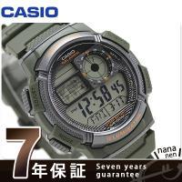 7年保証キャンペーン カシオ チープカシオ 海外モデル スタンダード クオーツ メンズ 腕時計 AE...