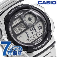 7年保証キャンペーン カシオ スタンダード デジタル ワールドタイム クオーツ メンズ 腕時計 AE...