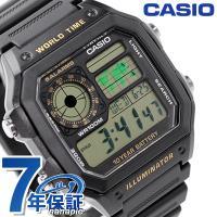 7年保証キャンペーン カシオ 海外モデル メンズ 腕時計 クオーツ AE-1200WH-1BVCF ...