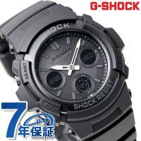 7年保証キャンペーン BASIC G-SHOCK G-ショック 電波 ソーラー アナデジ オールブラ...
