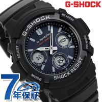 7年保証キャンペーン カシオ Gショック 電波ソーラー メンズ 腕時計 AWG-M100SB-2AE...