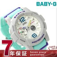 7年保証キャンペーン Baby-G Gライド レディース 腕時計 クオーツ BGA-180-3BDR...