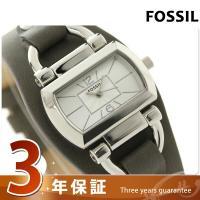 フォッシル レディース 腕時計 BQ1116 FOSSIL クオーツ シルバー×カーキ フォッシルは...