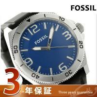 3年保証キャンペーン フォッシル メンズ 腕時計 BQ1170 FOSSIL クオーツ ブルー×ブラ...