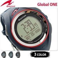 正規品 7年保証キャンペーン ソーマ ランニングウォッチ グローバルワン GPS メンズ DYK39...