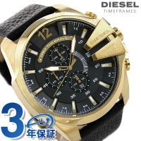 ディーゼル メガ チーフ クロノグラフ メンズ 腕時計 DZ4344 DIESEL MEGA CHI...