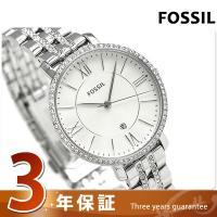3年保証キャンペーン フォッシル ジャクリーン 36mm クオーツ レディース 腕時計 ES3545...
