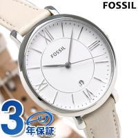 フォッシル ジャクリーン 36mm クオーツ レディース 腕時計 ES3793 FOSSIL JAC...