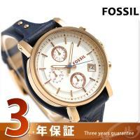 フォッシル オリジナル ボーイフレンド クロノグラフ クオーツ レディース 腕時計 ES3838 F...