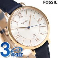 3年保証キャンペーン フォッシル ジャクリーン 36mm クオーツ レディース 腕時計 ES3843...