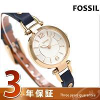 フォッシル ジョージア ミニ 26mm クオーツ レディース 腕時計 ES4026 FOSSIL G...