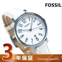 3年保証キャンペーン フォッシル ジャクリーン 36mm クオーツ レディース 腕時計 ES4203...