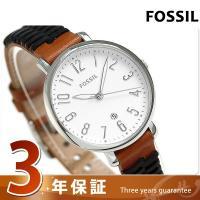 3年保証キャンペーン フォッシル ジャクリーン 36mm クオーツ レディース 腕時計 ES4208...