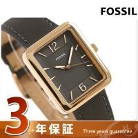 3年保証キャンペーン フォッシル アトウォーター 28mm クオーツ レディース 腕時計 ES424...