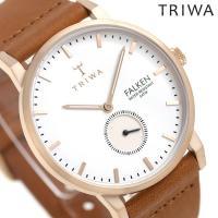トリワ ファルケン ローズ 38mm ユニセックス 腕時計 FAST101-CL010214 TRI...