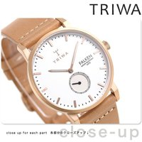 トリワ ファルケン ローズ 38mm ユニセックス 腕時計 FAST101-CL010614 TRI...