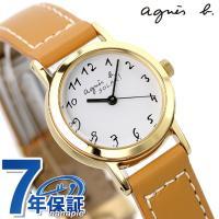 agnes b.(アニエスベー)アニエスb レディース 腕時計 ソーラー アラビア キャメル FBS...