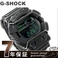 7年保証キャンペーン G-SHOCK ミリタリーブラック・シリーズ クオーツ GD-400MB-1D...