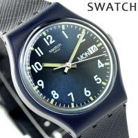 スウォッチ オリジナル ジェント サー・ブルー クオーツ ユニセックス 腕時計 GN718 swat...