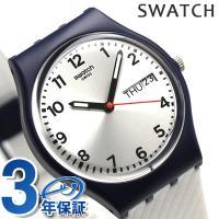 3年保証キャンペーン スウォッチ オリジナルス ジェント ホワイト・デライト 34mm スイス製 ク...