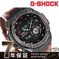 7年保証キャンペーン カシオ Gショック Gスチール クオーツ メンズ 腕時計 GST-210M-4...