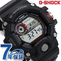 7年保証キャンペーン Gショック カシオ 腕時計 メンズ マスターオブG レンジマン ブラック CA...