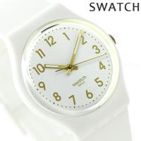 スウォッチ スタンダードジェント ホワイト・ビショップ クオーツ ユニセックス 腕時計 GW164 ...