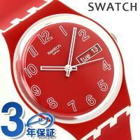スウォッチ オリジナル ジェント ポピー・フィールド スイス製 クオーツ ユニセックス 腕時計 GW...