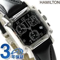 7年保証キャンペーン ハミルトン ロイド クロノ クロノグラフ クオーツ レディース 腕時計 H19...