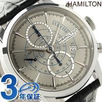 7年保証キャンペーン ハミルトン レイルロード オート クロノグラフ メンズ 腕時計 H406567...