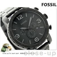 フォッシル ネイト クロノグラフ メンズ 腕時計 JR1401 FOSSIL Nate クオーツ ブ...