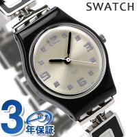 3年保証キャンペーン スウォッチ スタンダードレディース スイス製 腕時計 シルバー×マルチカラー ...