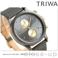 トリワ ランセン クロノ ウォルター 38mm クロノグラフ ユニセックス 腕時計 LCST101-...