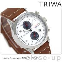 トリワ ランセン クロノ デューク 38mm クロノグラフ ユニセックス 腕時計 LCST113-S...