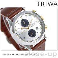 トリワ ランセン クロノ ラック 38mm クロノグラフ ユニセックス 腕時計 LCST115-CL...