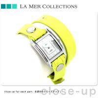 正規品 ラメール サクラ クオーツ 二重巻き レザーベルト LMDW1508 LA MER COLL...