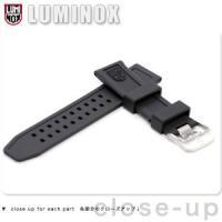 ルミノックス LUMINOX 交換用ベルト 替えベルト 腕時計 ラバー 3050シリーズ RUBBE...