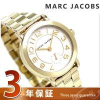 マーク ジェイコブス ライリー 36 スモールセコンド クオーツ レディース 腕時計 MJ3470 ...