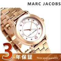 3年保証キャンペーン マーク ジェイコブス ライリー 28 クオーツ レディース 腕時計 MJ347...
