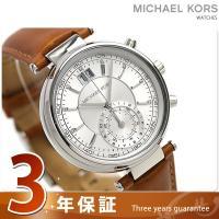 3年保証キャンペーン マイケル コース ソーヤー クロノグラフ クオーツ レディース 腕時計 MK2...