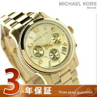 3年保証キャンペーン マイケル コース ランウェイ クロノグラフ レディース 腕時計 MK5055 ...