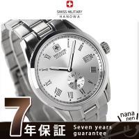 正規品 7年保証キャンペーン 送料無料 スイスミリタリー メンズ 腕時計 ローマン スモールセコンド...