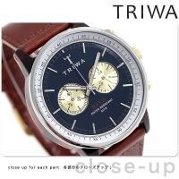 トリワ ネビル デューク 42mm クロノグラフ ユニセックス 腕時計 NEAC118-SC0103...