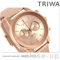 トリワ ネビル ローズ 40mm クロノグラフ ユニセックス 腕時計 NEST106-ME02141...
