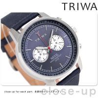 トリワ ネビル ブルー 40mm クロノグラフ ユニセックス 腕時計 NEST108-CL06071...